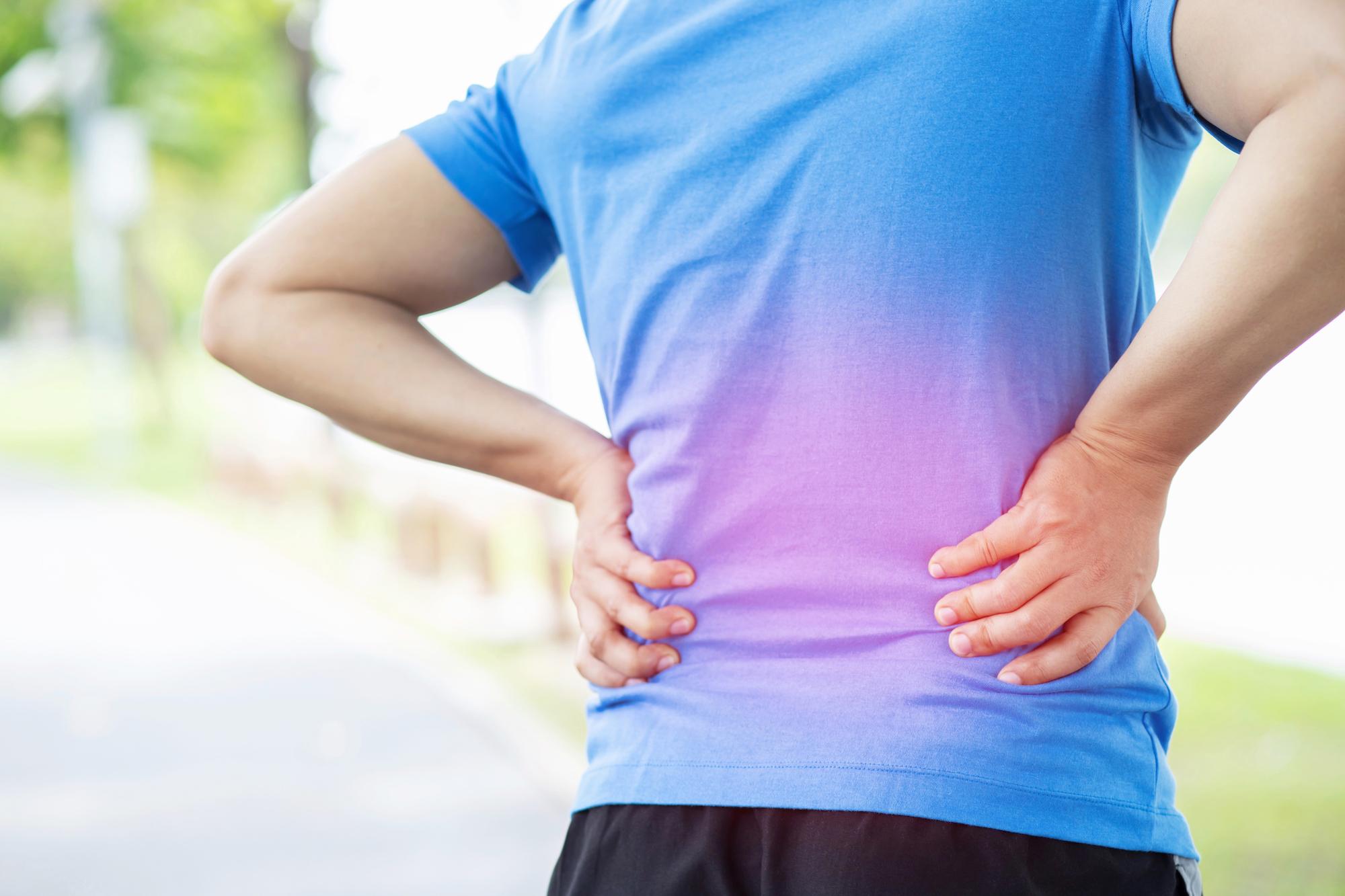 Rückenschmerzen, Kreuzschmerzen, Sportverletzung